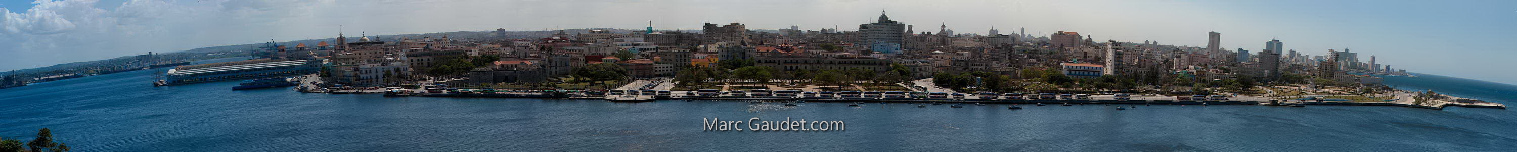Panoramic view of Havana by Marc Gaudet